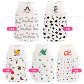 嬰兒睡袋 寶寶鋪棉防踢被睡袋背心式睡袋(M) SS01471 好娃娃