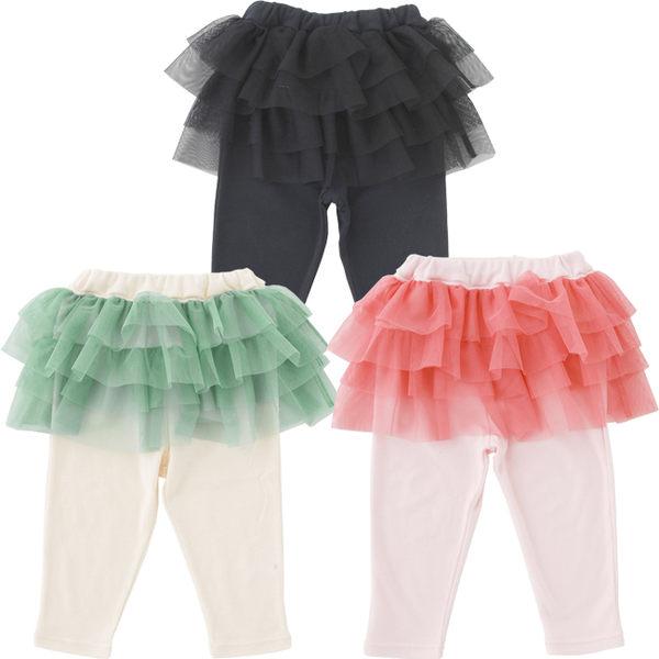 Nishiki 假兩件蛋糕紗裙長褲  P3259