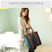 SANTA MONICA POLO - 大容量肩背雙帶購物包 SMPL-233
