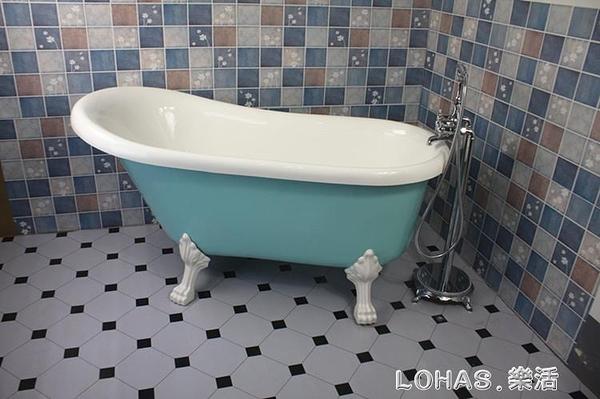 壓克力雙層保溫浴缸獨立式浴缸家用貴妃浴缸網紅浴缸歐式小奢華 樂活生活館