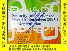 二手書博民逛書店Security罕見Information and Event