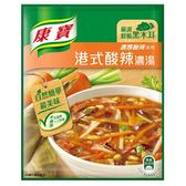 康寶濃湯自然原味港式酸辣46.6Gx2入/袋【愛買】