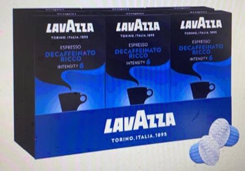 [COSCO代購] W189506 Lavazza 咖啡膠囊60顆 (6 Decaffeinato Ricco)