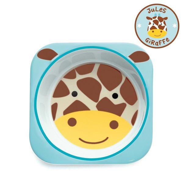 美國 skip hop 動物園系列兒童碗-長頸鹿