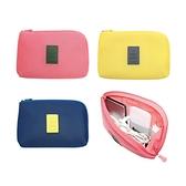 韓國便攜式數據線充電器收納包(1入) 3色可選【小三美日】