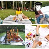 鋁膜防潮墊野餐墊野餐布草坪墊子戶外便攜加厚家用野炊地墊露營墊CY『小淇嚴選』