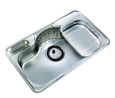 歐雅系統家具  玻璃展示櫃 / 全面客製化訂做  【進口水槽-RGX –HJIS 850P多元化實用水槽】