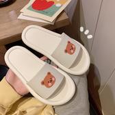 涼鞋 韓系平底沙灘拖鞋 花漾小姐【預購】