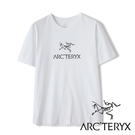 【Arc'teryx 始祖鳥】男 Arc'Word短袖圓領休閒T恤『白』L07178300 戶外.露營.旅遊.休閒