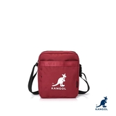 KANGOL 袋鼠-大袋鼠收納小包 紅色【60553802】