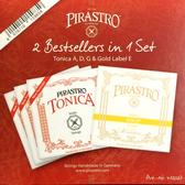 小叮噹的店- 小提琴弦(4/4) 德國PIRASTRO Tonica + Gold E弦 412027
