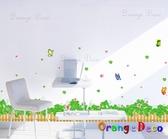 壁貼【橘果設計】三葉草 DIY組合壁貼/牆貼/壁紙/客廳臥室浴室幼稚園室內設計裝潢
