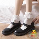 3雙|蕾絲襪子女lolita襪子短襪花邊中筒襪日系洛麗塔【樂淘淘】