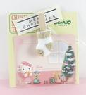 【震撼精品百貨】Hello Kitty 凱蒂貓~聖誕留言紙卡-kitty圖案