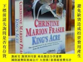 二手書博民逛書店King s罕見Acre(國王的土地)——Christine M