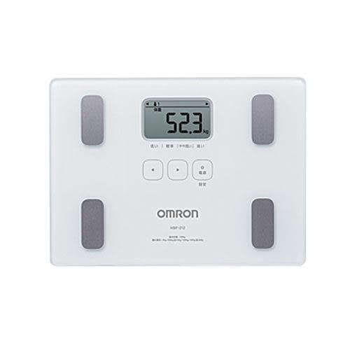 元氣健康館 OMRON歐姆龍體重體脂計 HBF-212/白色