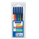 施德樓   MS326WP6  NC 水易洗彩繪筆6色組 / 盒