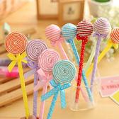 【03360】 七彩棒棒糖造型筆 原子筆 文具 學生筆記 開學