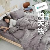 『TCL02』奧地利100%TENCEL涼感純天絲6尺雙人加大床包枕套三件組(不含被套)床單 床套 床巾