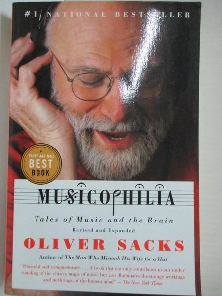 【書寶二手書T9/心理_HF9】Musicophilia: Tales of Music and the Brain_Sacks, Oliver W.