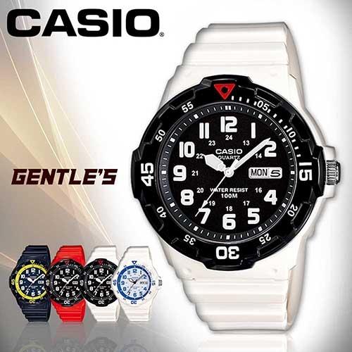 CASIO手錶專賣店 卡西歐  MRW-200HC-7B 男錶 潛水造型指針 日期星期 防水100米 橡膠錶帶