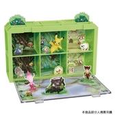 Pokemon 寶可夢劇場版-可可 場景收納盒