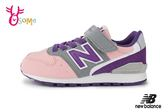 New Balance 996 女童運動鞋 中大童 復古慢跑鞋 O8417#粉紫◆OSOME奧森童鞋
