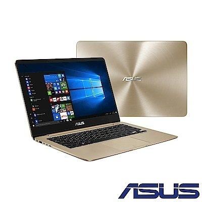 【限量特賣】ASUS UX430 14吋筆電(UX430UN-0211D8250U) 璀璨金 福利品 送滑鼠+鼠墊+保護套