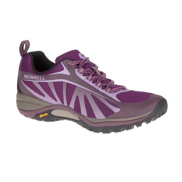 MERRELL 女款 SIREN EDGE 輕量越野登山戶外多功能鞋- 紫x粉 ML37104