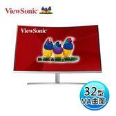 ViewSonic 優派 VX3216-SCMH 32型 曲面 顯示器