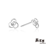 蘇菲亞SOPHIA - 薔薇鑽石耳環