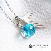 [925純銀]人魚的淚光人魚項鍊【SL440】璀璨之星☆