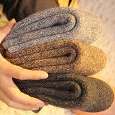 襪子男士加厚羊毛襪刷毛保暖襪老人襪地板襪中筒毛圈襪冬季羊絨襪