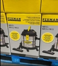 [COSCO代購] C107259 FIXMAN DRY/WET VACUUM 幹濕兩用吸塵器