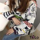 針織衫-Tirlo-日系滿滿貓咪針織衫-...