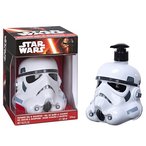 STAR WARS STORMTROOPER 帝國風暴兵 3D珍藏限量版公仔 二合一 沐浴洗髮精 500ml