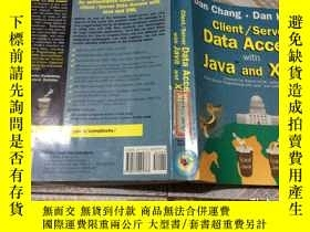 二手書博民逛書店Client Serve罕見data access with J