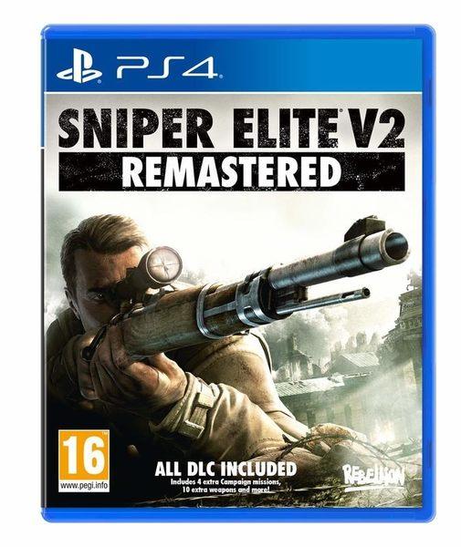 PS4 狙擊之神V2 重製版 中英文版