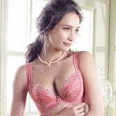 LADY 深線魅力系列 機能調整型 G罩內衣(甜心粉)