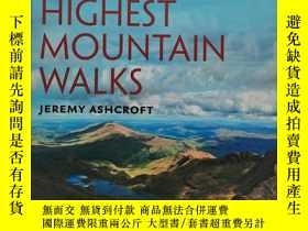 二手書博民逛書店Britain s罕見Highest Mountain Walk
