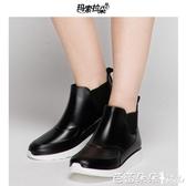 雨鞋 男短筒春夏男士低幫水靴時尚套鞋防滑膠鞋防水鞋戶外成人雨靴『快速出貨』