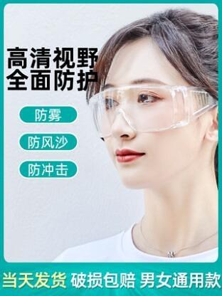 現貨 台灣出貨 護目鏡 3m 護目鏡 防護眼鏡 護目鏡眼鏡 護防護 護目鏡防霧 透明護目鏡