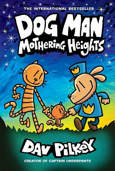 2021 美國暢銷書排行榜 Dog Man: Mothering Heights: From the Creator of Captain Underpants (Dog Man #10) (10) Hardcover