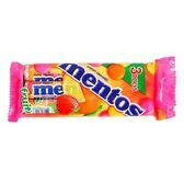 曼陀珠Mentos-綜合水果口味36.5g*3入【愛買】