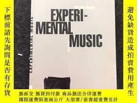 二手書博民逛書店EXPERI-MENTAL罕見MUSIC【關於音樂的外文原版書】
