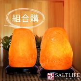 【鹽夢工場】鹽燈兩入組(玫瑰4-5kgX2)
