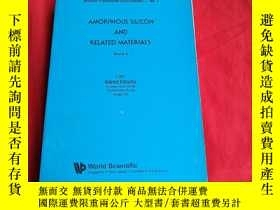 二手書博民逛書店AMORPHOUS罕見SILICON AND RELATED M
