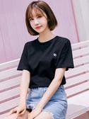 夏裝新款白色簡約寬鬆短袖T恤女學生時尚港風半袖上衣打底衫 Cocoa