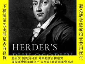 二手書博民逛書店Herder s罕見PhilosophyY364153 Michael N. Forster Oup Oxfo