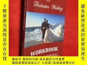 二手書博民逛書店The罕見Destination Wedding Workboo